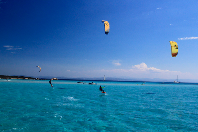 Kite surf à Piantarella en Corse du Sud